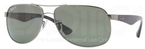 Ray Ban RB3502 Gunmetal with Polarized Crystal Green Lenses