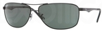 Ray Ban RB3506 Black with Green Lenses