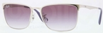 Ray Ban RB3508 Silver with Violet Gradient Lenses