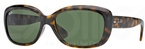 Ray Ban RB4101 Jackie Ohh Light Havana with Crystal Green Lenses