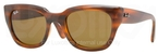 Ray Ban RB4178 Shiny Havana with Brown Lenses