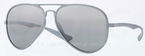 Ray Ban RB4180 Silver with Grey/Silver Mirror Gradient Lenses