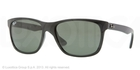 Ray Ban RB4181 Black with Crystal Green Lenses