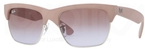 Ray Ban RB4186 Dark Rubber Sand/Silver with Brown Gradient Violet Lenses