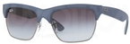 Ray Ban RB4186 Rubber Blue/Gunmetal with Grey Gradient Lenses