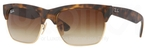Ray Ban RB4186 Rubber Havana/Arista with Brown Gradient Lenses