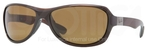 Ray Ban RB4189 Shiny Brown with Polarized Brown Lenses
