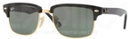 Ray Ban RB4190 Black/Arista with Crystal Green Lenses