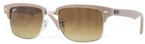 Ray Ban RB4190 Demi Gloss Matte Beige/Silver with Brown Gradient Lenses