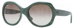 Ray Ban RB4191 Sage Green with Green Gradient Lenses