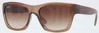 Ray Ban RB4194 Brown Demi Gloss with Brown Gradient Lenses