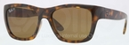 Ray Ban RB4194 Light Havana with Polarized Brown Lenses