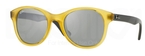 Ray Ban RB4203 Opaline Yellow w/ Green Mirror Silver Lenses