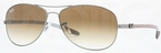 Ray Ban RB8301 Gunmetal with Crystal Brown Gradient Lenses
