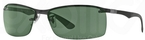 Ray Ban RB8315 Black w/ Grey Green Lenses