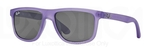 Ray Ban Junior RJ9057S Violet Demishiny w/ Gray Lenses