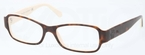 Ralph Lauren RL6110 Top Dark Havana on Cream