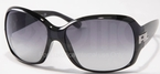 Ralph Lauren RL8001 Black with Grey Gradient Lenses