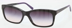 Ralph Lauren RL8093 Black with Grey Gradient Pink Lenses