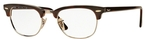 Ray Ban Glasses RX5154 Clubmaster Red Havana