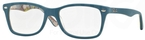 Ray Ban Glasses RX5228 Top Mat Blue on Texture Camuflage