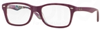 Ray Ban Glasses RX5228 Top Matte Violet on Tex Camuflag
