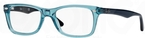 Ray Ban Glasses RX5228 Transparent Blue