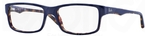 Ray Ban Glasses RX5245 Top Blue on Havana