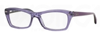 Ray Ban Glasses RX5255 Shiny Transparent Violet