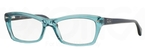 Ray Ban Glasses RX5255 Shiny Trasparent Blue