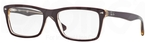 Ray Ban Glasses RX5287 Top Red on Transparent Beige