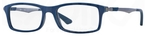 Ray Ban Glasses RX7017 Top Blue On Grey