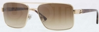 Versace VE2141 Pale Gold w/ Crystal Brown Gradient Lenses