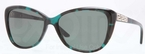 Versace VE4264B Green Havana w/ Gray Green Lenses