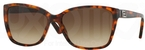 Versace VE4268B Amber Havana w/ Brown Gradient Lenses