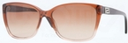 Versace VE4268B Dark Brown Transp/Brown Transp w/ Brown Gradient Lenses