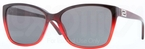 Versace VE4268B Dark Red/Red Transp w/ Grey Lenses