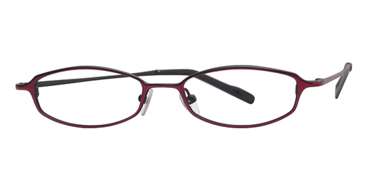 A&A Optical Carmine Eyeglasses