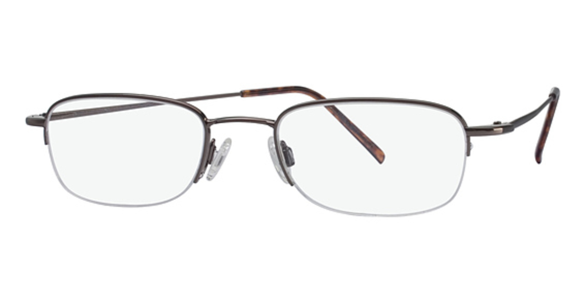 Eyeglass Frames with Clip On Sunglasses