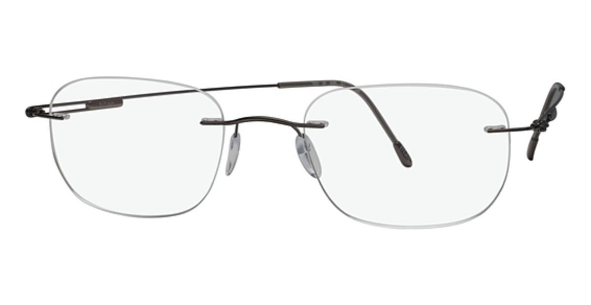 Eyeglass Frames By Silhouette : Silhouette 7603 Eyeglasses Frames