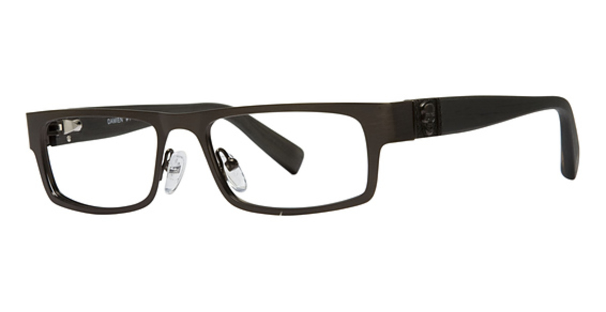 Silver Dollar Damien Eyeglasses