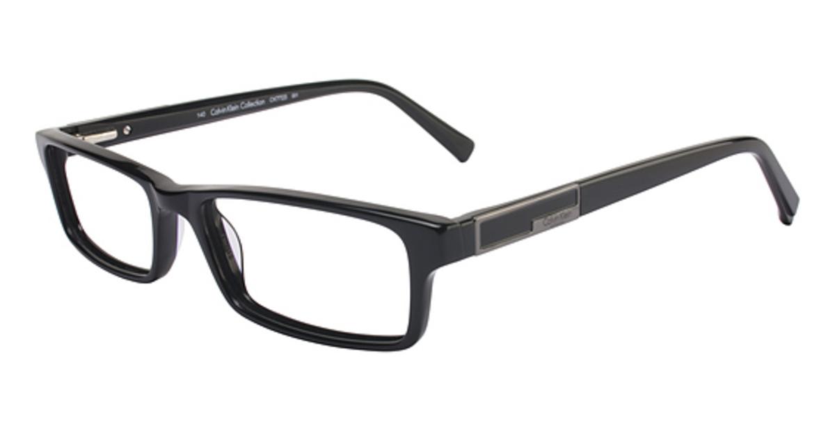 Calvin Klein Black Frame Glasses : Calvin Klein CK7723 Eyeglasses Frames