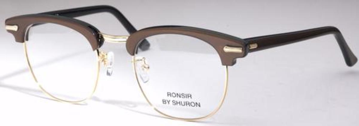 9f3ef79b87 Shuron Ronsir Zyl Mocha Gold with Slipper Temples. Mocha Gold with Slipper  Temples