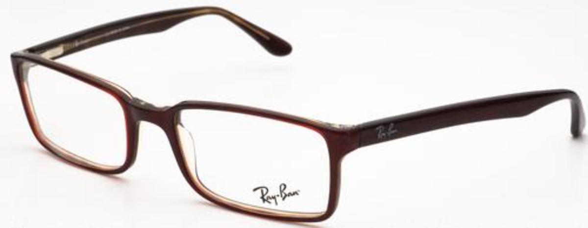 c291fe8d03ba Ray Ban Glasses 5012 Burgundy. Burgundy