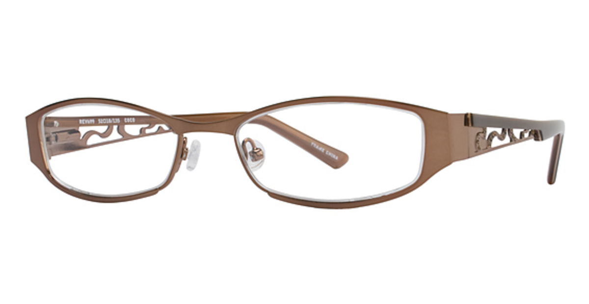 revolution eyewear rev699 eyeglasses frames