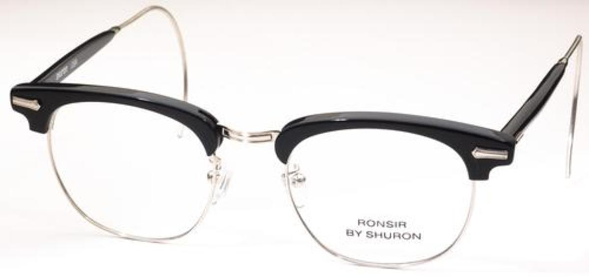 8bbbdd92637d Ebony/Silver with Relaxo Cable Temples