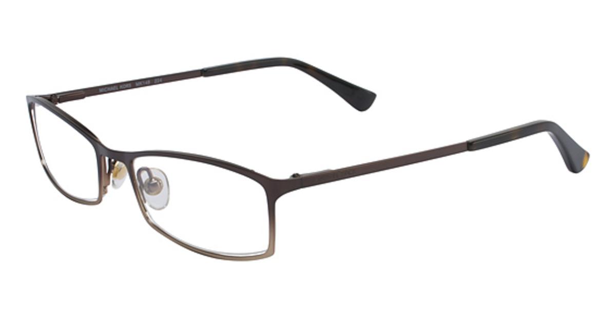 Glasses Frame Michael Kors : Michael Kors MK148 Eyeglasses Frames