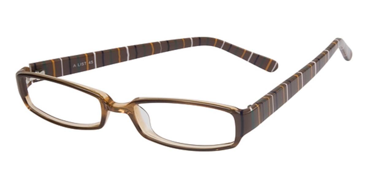 Glasses Frame List : Smilen Eyewear A-List 45 Eyeglasses Frames