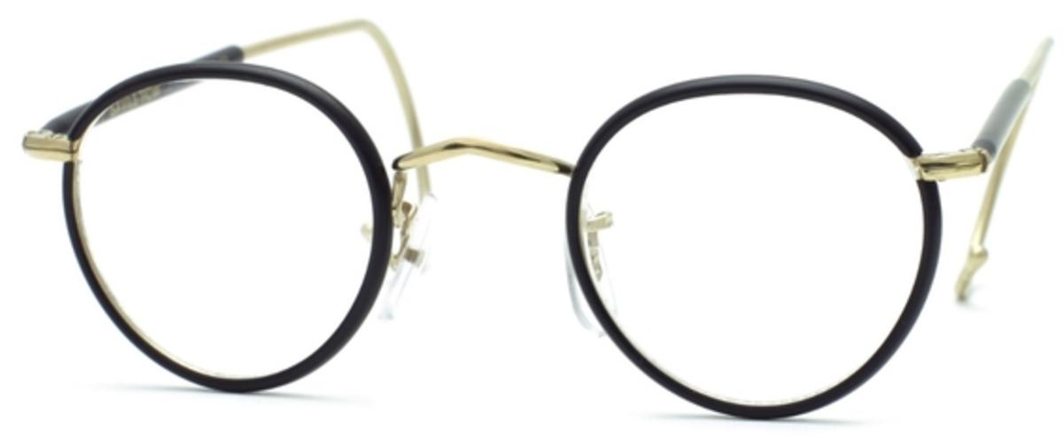 Savile Row Beaufort Panto 18Kt, Cable Temples Eyeglasses Frames