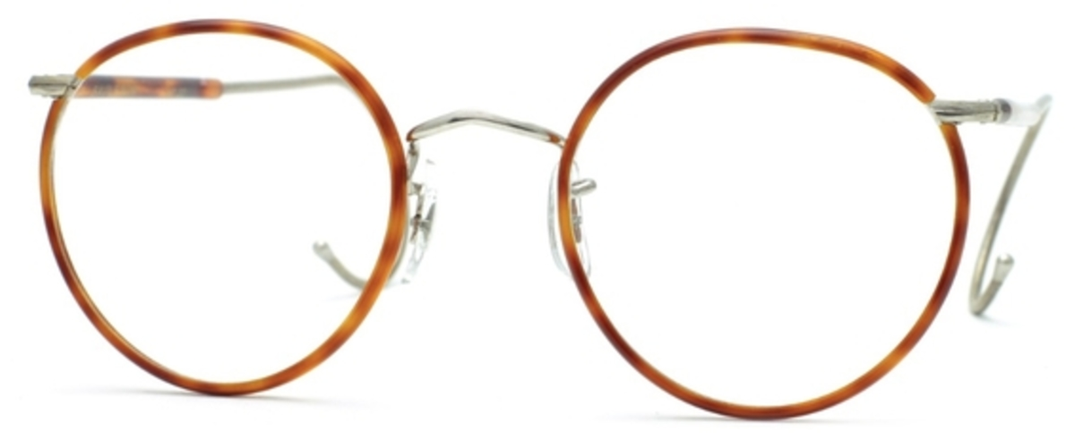 Eyeglasses Frame Temples : Savile Row Beaufort Panto 18Kt, Cable Temples Eyeglasses ...